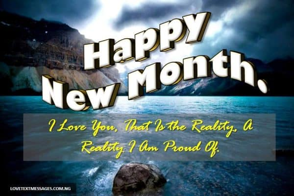 Romantic New Month Messages