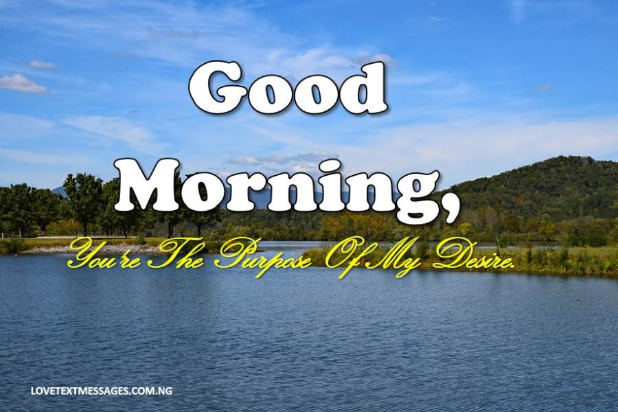 Sweet Good Morning Message for Her