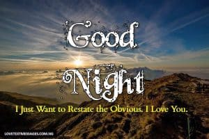 Good Night Sms for Her