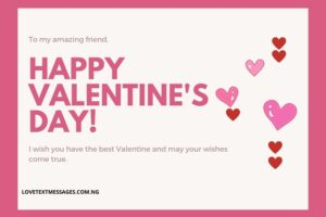 Happy Valentine Messages for Friends