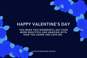 Valentine Day Message to My Wife