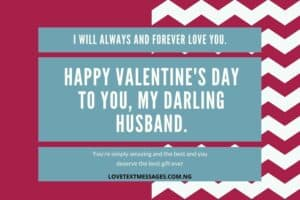 Happy Valentine Messages for Husband