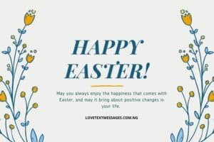Happy Easter Messages and SMS for Aunt