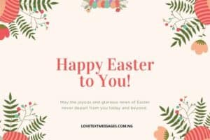 Happy Easter Messages and SMS for Boyfriend