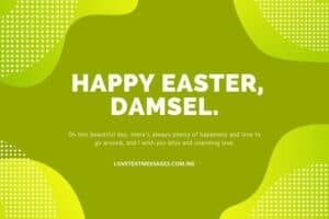 Happy Easter Messages and SMS for Daughter