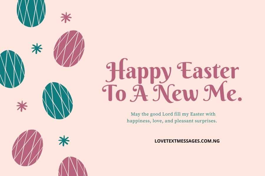 Happy Easter Messages and SMS for Myself