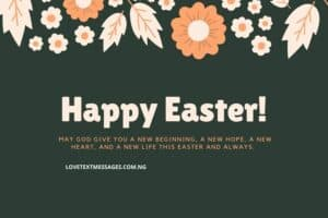 Happy Easter Messages and SMS for Niece