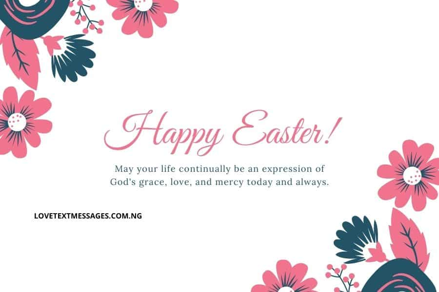 Happy Easter Messages and SMS for Pastor's wife