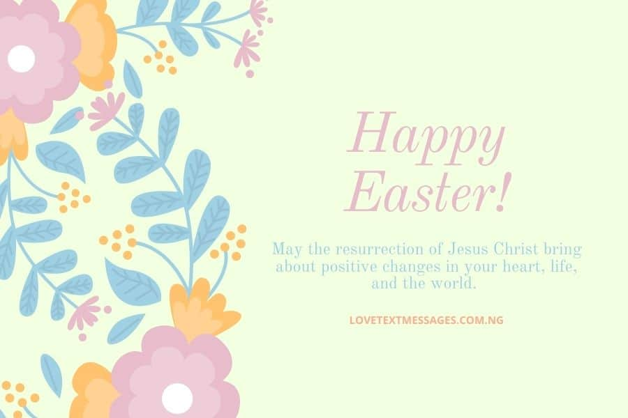 Happy Easter Messages and SMS for Sister