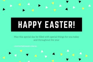 Happy Easter Messages and SMS for Son