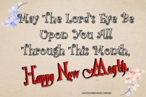 Happy New Month Text Messages for Daughter