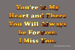 Missing You Love Messages for Her