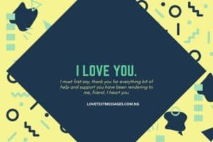 Friendship Sms for a Lovey Friend