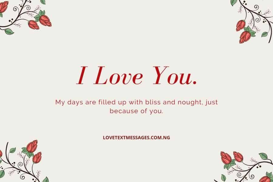 Romantic I Love You Quotes for Her