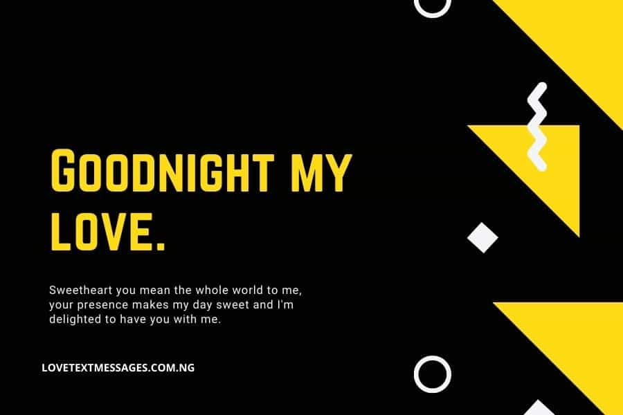 Best Good Night SMS for Her