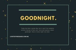 Best Good Night Text Messages for Her