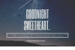 Good Night SMS for Girlfriend