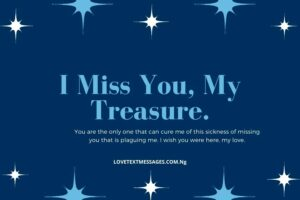 Missing You Text Messages to My Love
