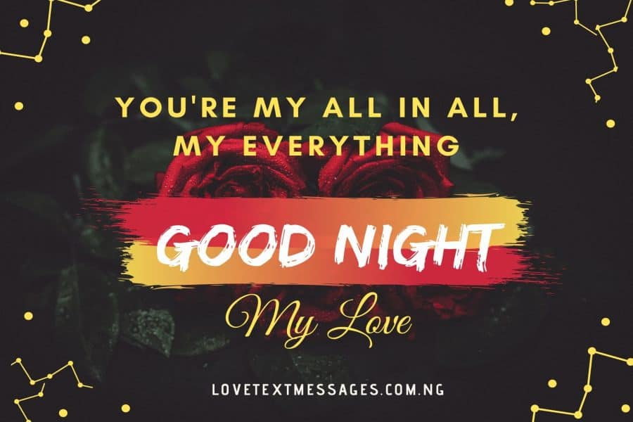 Romantic Good Night Sayings for Her or Him
