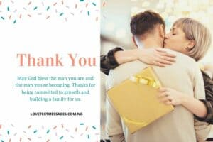 Thank You Quotes for Husband
