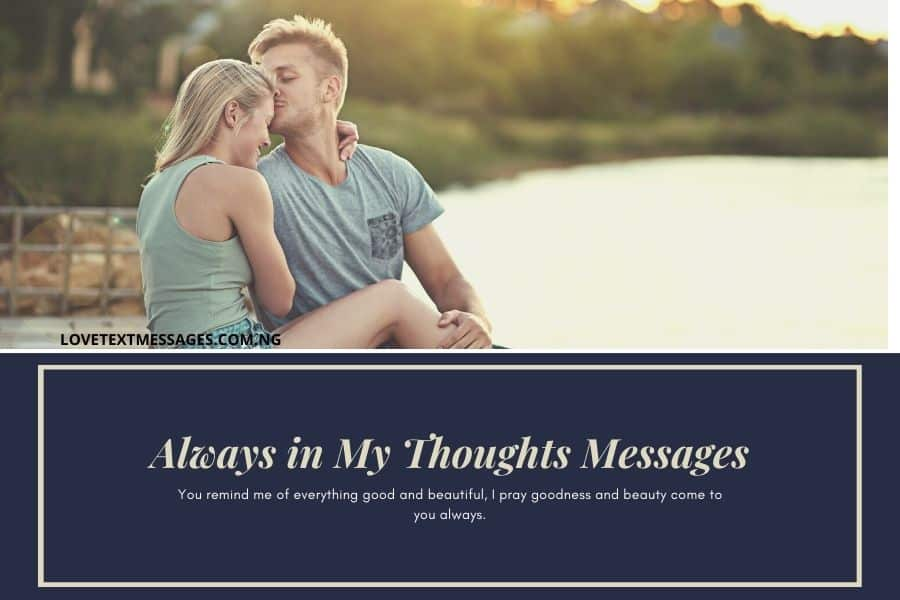 Always in My Thoughts Messages