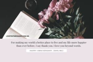 Best Wedding Anniversary Messages to Wife