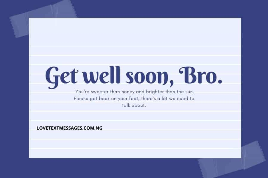 Get Well Soon Messages for Family Members