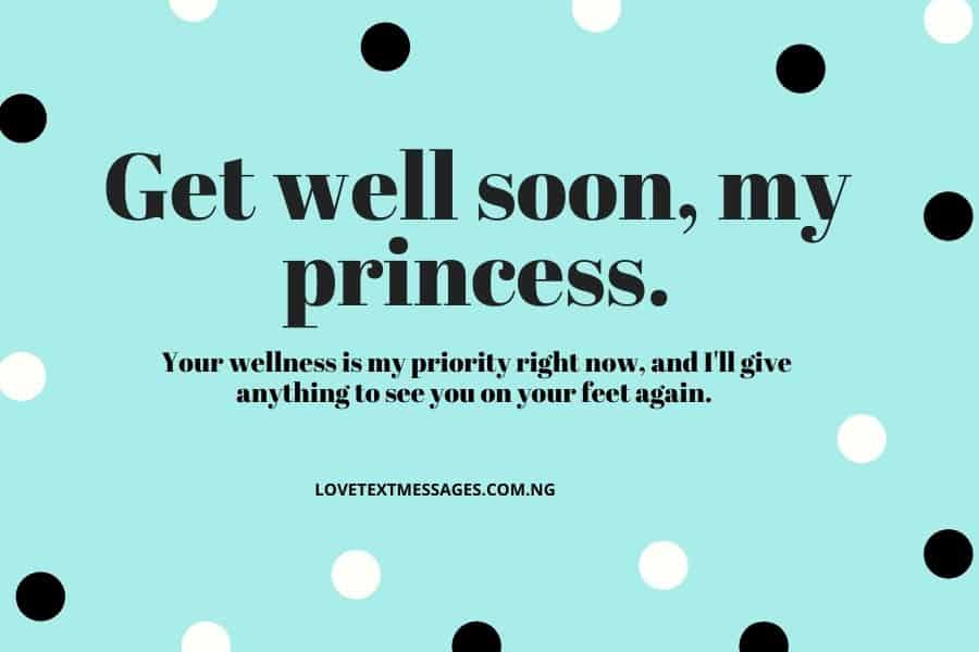 Get Well Soon Messages for Her - Girlfriend