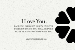 I Love You Heart Touching Messages for Him or Her