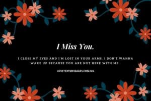 I Miss You SMS Messages for Wife