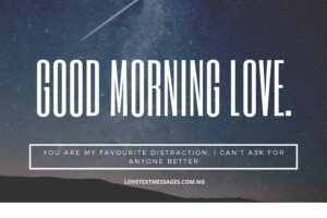 Morning Message for My Husband
