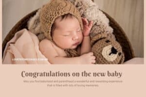New Baby Greeting Message for Parents