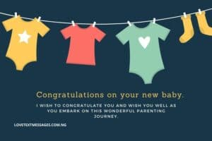 New Baby Messages for Parents