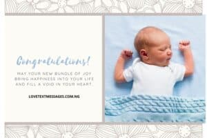 Newborn Baby Wishes for Parents