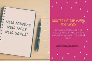 Quotes of the Week for Work