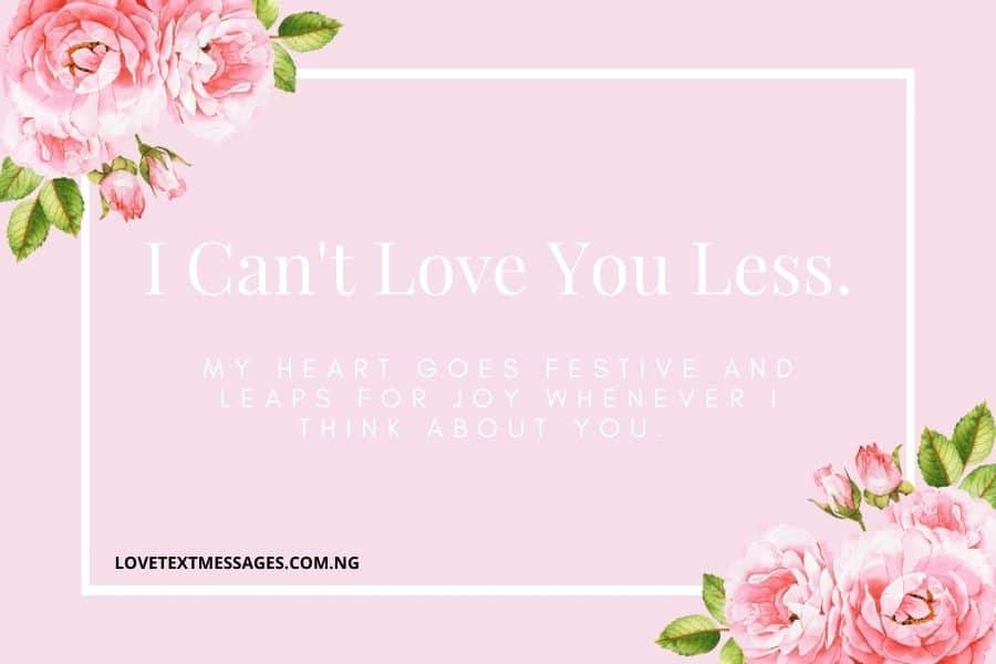 Romantic Interesting Love Messages for My Love