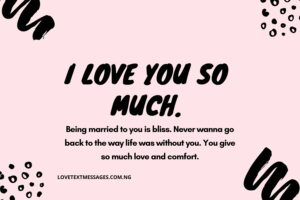 Romantic Love Text Messages for My Husband