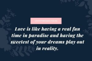 Short Love Messages for Lovers