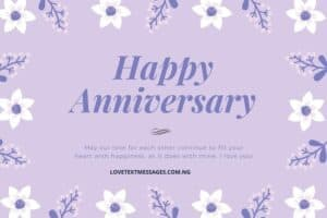 Sweet Wedding Anniversary Wishes for Wife