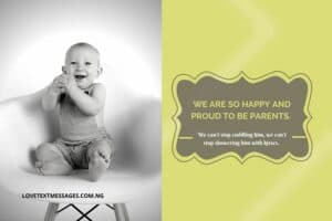 Baby Arrival Messages from Parents