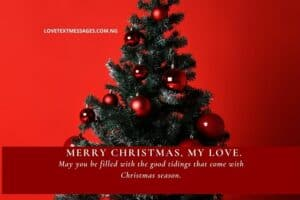Christmas Greetings, Messages and Wishes for Boyfriend