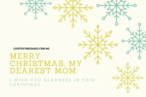 Christmas Greetings, Messages and Wishes for Mum