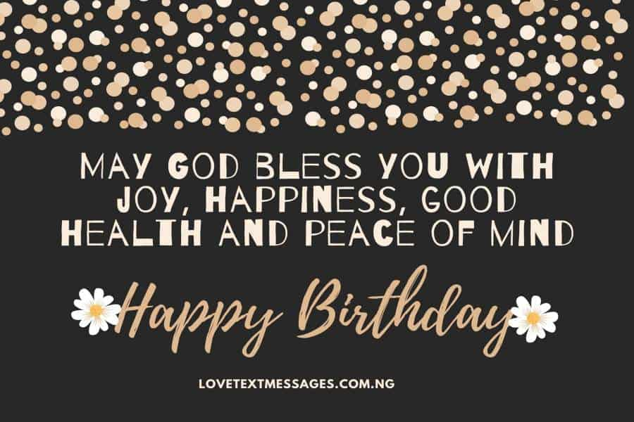 Birthday Prayers for All