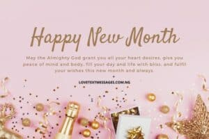 Happy New Month Prayers for Niece