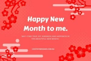 Happy New Month of March to Myself