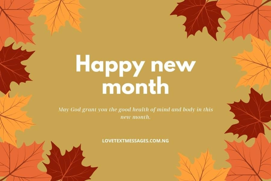New Month Inspirational Message for Uncle
