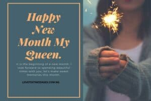 Romantic New Month Messages for Girlfriend